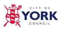 City of York Council logo.