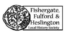 Fishergate Fulford & Heslington Local History Society logo.
