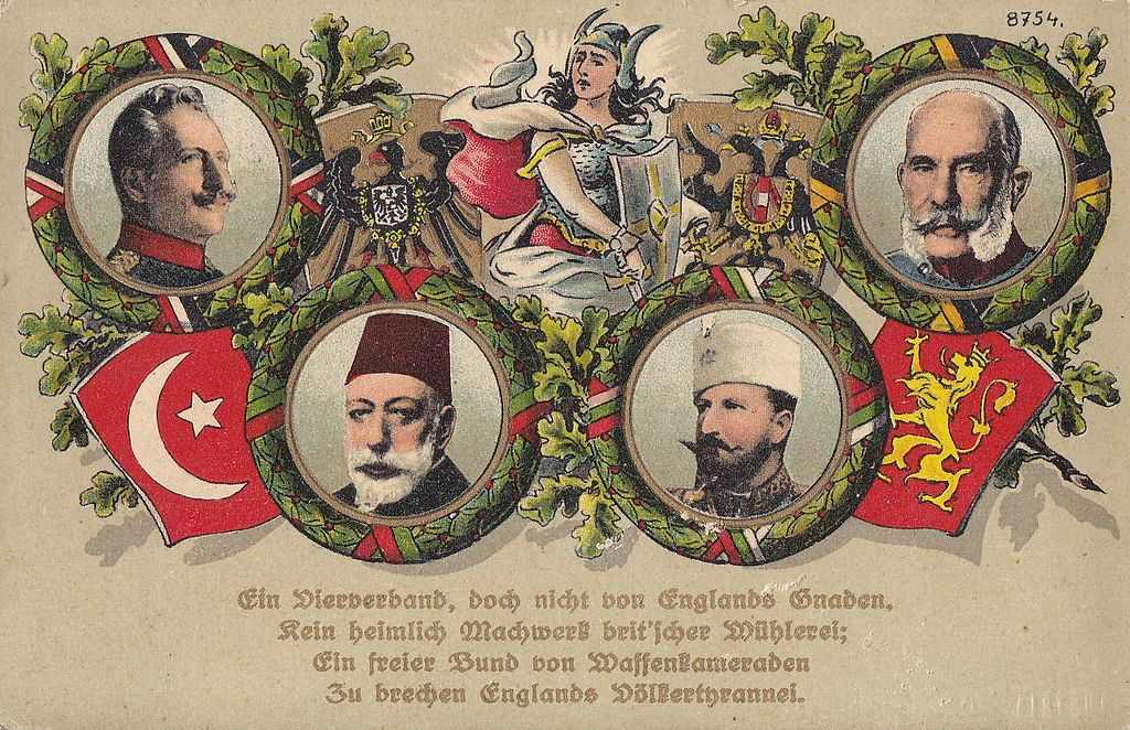 A new history of the central powers at war